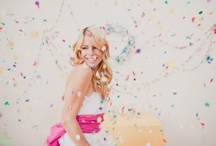 i {CELEBRATE} - Confetti Style / Who doesn't love confetti?  If I renew my vows one day, you can bet there will be confetti. ;) Party on!