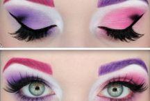 makeup craziness! / by Aubrey Lay