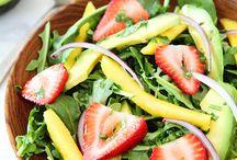Salads - Rabbit Food / Yummy looking salads!