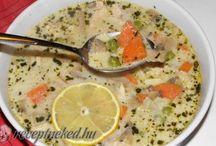 tárkonyos leves