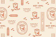 my owls pattern tattoo