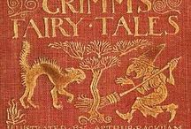 books of fairy tales.