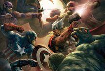 Marvel Cómics Art