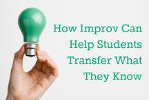 Why study improv comedy ...