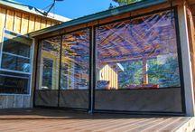 patio plastic curtain