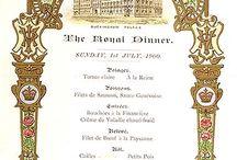 buckingham palace menus / Menus