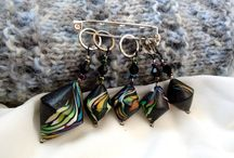 Stitch markers by Crumpled Fantazies