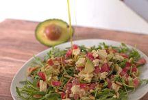 Leichte Salate / Leckere Salate einfach gemacht, gut aussehend und in jeder Situation anwendbar.