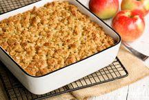 Overnight baked apple oatmeal
