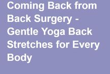 Yoga after Spinal Fusion