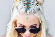 The braid hair