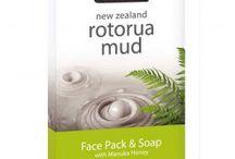 New Zealand Rotorua Mud Skincare