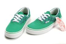 Vans Men & Women Authentic Shoes Uni Plaid All Green