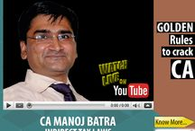 Live Webcast by CA Manoj Batra (Indirect Tax Laws) / GaapBright invites all aspirants to watch Live webcast on Youtube from CA Manoj Batra on November 19 from 4:00PM to 4:40PM. This is a great opportunity to ask the questions before admissions directly from him. He will be giving Guru Mantra how to crack CA and how to get exemptions in IDT (Indirect Tax Laws). To know more about CA Manoj Batra, visit http://goo.gl/vHCQ7H  Hurry up now and ask your questions here...