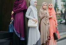 Women's fashion hijab