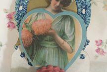 San Valentino vintage / Cartoline vintage di San Valentino