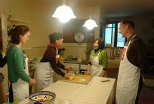 Cooking Classes at Italian School Pistoia / An exhilarating experience mixing the musical sounds of the Italian language with the savory taste of typical Italian food. You will be taught how to hand-make pasta, prepare a delicious Bolognese ragù, cook the simplest though flavorful ribollita and much more!