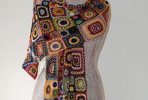 Crochet. Granny square.