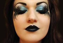 Halloween Fashion / Halloween hair, makeup, manicures, fashion and more!