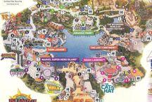 Theme Park Maps