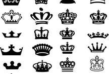 刺繍図案 冠