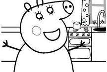 Peppa Pig: Disegni da Colorare