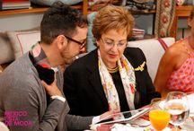 DESAYUNO 20 ANIVERSARIO MACARIO JIMÉNEZ / Desayuno por el 20 aniversario del diseñador mexicano Macario Jimenez en Gancedo organizado por El Instituto de México en España y México está de Moda, con la presencia de la Embajadora de México en España, Roberta Lajous e invitados especiales.