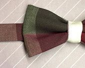 Plaid Bow Ties / Plaid.  A quintessential piece every bow tie enthusiast needs in their closet.