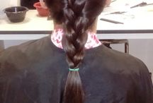 practice hair up