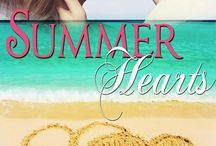 Summer Hearts: 6 Summer Tales of Sweet Romance / I co-authored a book with five authors:  Debby Lee,  Carol Malone,  Sarah Daley,  Robyn Echols,  and Kathy Bosman.  The story is multi-genred (Contemporary,  Historical,  Paranormal and Fantasy).  They all have a Summer/Beach theme and is available now on Amazon.com.  It was such a fun project! Here are some bits of inspiration for my story, A Summer of Stars.