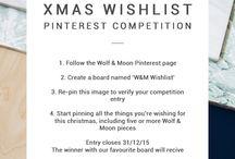 W&M Wishlist