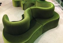 purely green velvet couches