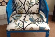 Upcycled Upholstered Furniture