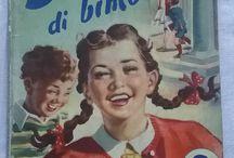 scuola vintage / Oggetti scolastici della mia infanzia, libri di lettura e sussidiari della scuola elementare negli anni 40  50 e 60