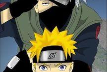 Naruto and kakashi