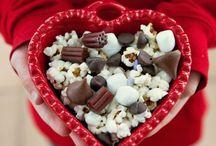Pop pop pop it snacks! / Snacks and goodies made with popcorn / by Lillyvette Montalvo