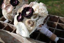 DIY wedding crafts/decor