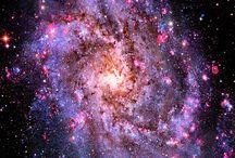 Mlhoviny a galaxie / Zkráceně: miš-maš barev :-)