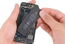 Sustitución de la batería del iPhone 5 / Para sustituir la batería de iPhone 5, siga los pasos siguientes.