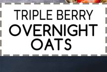 Overnight Oats / overnight oats, oats, oats recipes, healthy breakfast, gluten free breakfast, oatmeal