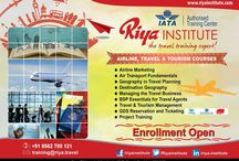 Study at Riya Institute-IATA courses / Do you dream a job in airline, aviation & travel industry? Join Riya Institute and fulfill your dream!!!For details get in touch with Riya Institute. Visit our website http://riyainstitute.com/