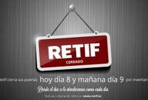 Retif Corporativo / En Retif Corporativo publicaremos todas las novedades y noticias relacionadas con la empresa, para que podáis seguir todos nuestros movimientos desde un punto de vista más empresarial.