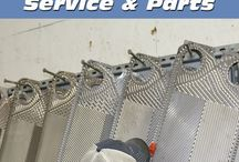 Plate Heat Exchanger Service / Heat Exchanger Plate inspection, cleaning, gasketing, and maintenance.
