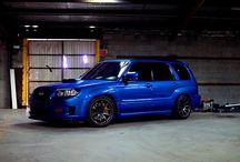 Subaru sti wrx impreza bugeye forester