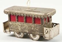 Dresden ornaments   / German paper molded / by Joseph Sanchez