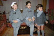 capitas de tela para las niñas