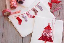 Basteln / Weihnachtskarten