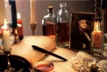 My witchy bookshelf   / by Amber Swaffar