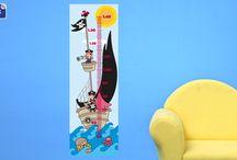 Medidores infantiles / Medidores infantiles Stikets para decorar una habitación infantil o una habitación de bebé