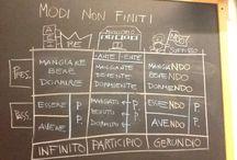grammatica >> i modi indefiniti